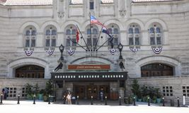 St Louis Union Station Hotel royaltyfri foto