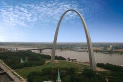 St.- Louisbogen - der Jefferson Stockfotografie