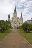 St.- Louiskathedrale Lizenzfreie Stockbilder