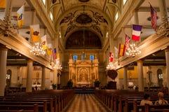 St- Louiskathedrale lizenzfreie stockbilder