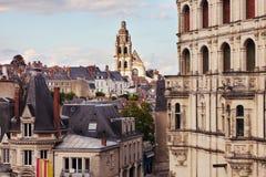 St.- Louiskathedrale in Blois Lizenzfreie Stockfotografie