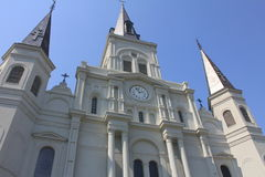 St.- Louiskathedrale in New Orleans Lizenzfreie Stockbilder