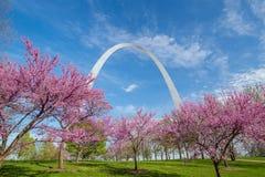 St- Louiskommunikationsrechner-Bogen Stockfoto