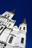 St Lous Cathedral. St Louis Cathedral in New Orleans Lousiana Royalty Free Stock Photography