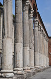 St Lowrence columns - Milan Italy Stock Photo