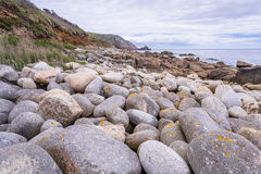 St loys cove in cornwall england uk Stock Images