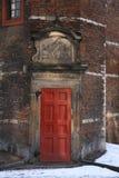 St. Lucas Guild, Amsterdam, Netherlands. Door of St. Lucas Guild, Amsterdam, Netherlands Stock Image