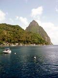 St Lucia imagen de archivo libre de regalías