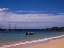 St Lucia Beach Stock Photo