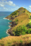 St Lucia (Carribean) - Pigeon Island Landmark Royalty Free Stock Images