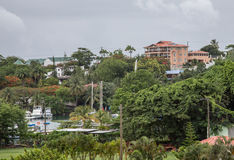 St. Lucia and Castries Royalty Free Stock Images