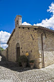 St. Lucia Church. Montefalco. Umbria. Stock Photos