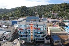 St Lucia - edificio de oficinas duplicado Foto de archivo libre de regalías
