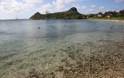 St Lucia, ilha das Caraíbas Imagens de Stock