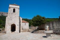 St Lucia kościół przy Jurandvor, Chorwacja - Zdjęcia Royalty Free