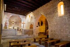St Lucia kościół przy jurandvor inside Obraz Stock