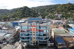 St. Lucia - Mirrored office building Royalty Free Stock Photo