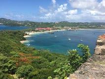 St- Luciastrand stockbild