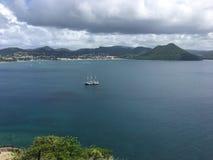 St- Luciastrand stockfotos