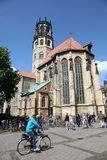 St. Ludgeri church in Munster, Germany Stock Photos