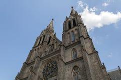 St. Ludmila Basilica. Stock Photos