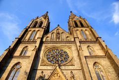 St.Ludmila Church Royalty Free Stock Images