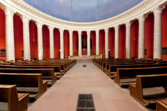 St Ludwigs catholic church Darmstadt. The catholic church in Darmstadt Germany royalty free stock image