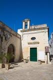 St Luigi Gonzaga Church. D'Otranto di Corigliano. La Puglia. L'Italia. Fotografia Stock Libera da Diritti