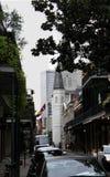 St. Luis Cathedral im französischen Viertel New Orleans stockbild