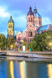 St. Lukas Church (Lukaskirche), Munich Stock Photography