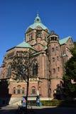 St. Lukas Church in München, Deutschland Stockbilder