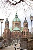 St Lukas Church, Munich arkivfoto