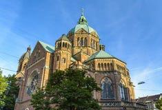 St. Lukas Church Munich, Deutschland Stockbilder