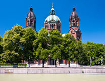 St. Lukas church, Munich, Germany Stock Photos