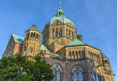 St. Lukas Church in Munich, Bavaria, Germany Stock Photography