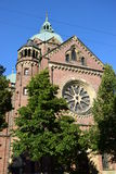 St Lukas church in Munich, Germany Royalty Free Stock Images
