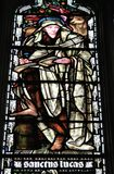 St Luke евангелист стоковые изображения rf