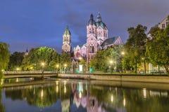 St. Luke Church, München lizenzfreies stockfoto