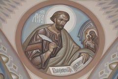 St. Luke de Evangelist Stock Afbeelding