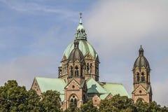 St. Luke in Munich Stock Image