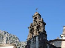 St Luke Orthodox Church, cidade velha de Kotor, Montenegro imagem de stock royalty free