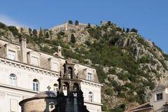 St Luke Orthodox Church, cidade velha de Kotor, Montenegro foto de stock