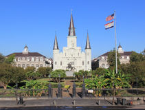 St. Louis Cathedral. In New Orleans, LA Stock Photo