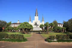 St Louis Cathedral. St. Louis Cathedral in New Orleans, LA Stock Photos