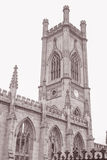 St Luke's Church Ruins, Liverpool, England Stock Photo
