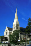 St Lukes Anglican Church restored. Now fully restored, the Historic St Luke's Anglican Church building, Oamaru, Otago, South Island, New Zealand royalty free stock images