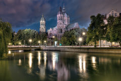 St Lukes in Munich Stock Photography