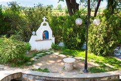 St. Lydia`s baptistry church, Lydia, Philippi, Greece Royalty Free Stock Photos