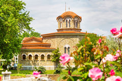 St. Lydia's baptistry church, Lydia, Philippi, Greece Royalty Free Stock Images