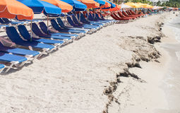 ST Maarten Beach Στοκ εικόνες με δικαίωμα ελεύθερης χρήσης